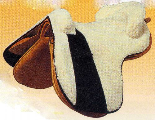 Special Offer Sheepskin saddle cover for Zaldi Alta Escuela saddle